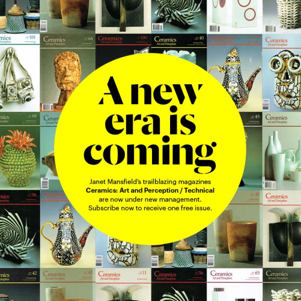 Ceramics Art And Perception Subscription 4 Issues