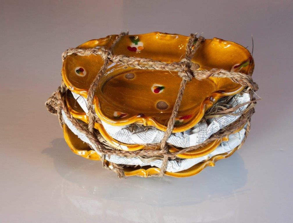 Richard Parker small golden dishes